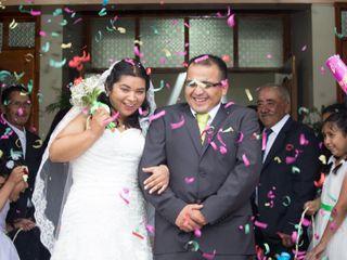 El matrimonio de Nirza y Gabriel 1