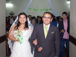 El matrimonio de Nirza y Gabriel