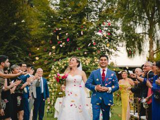 El matrimonio de Michelle y Rafael