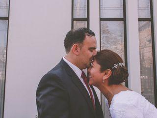 El matrimonio de Verónica y Darién