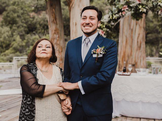 El matrimonio de Constanza y Edgardo en San José de Maipo, Cordillera 1