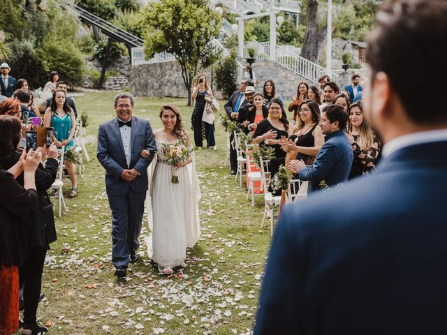 El matrimonio de Constanza y Edgardo en San José de Maipo, Cordillera 33