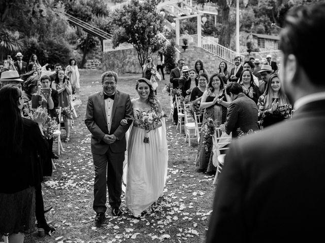 El matrimonio de Constanza y Edgardo en San José de Maipo, Cordillera 34