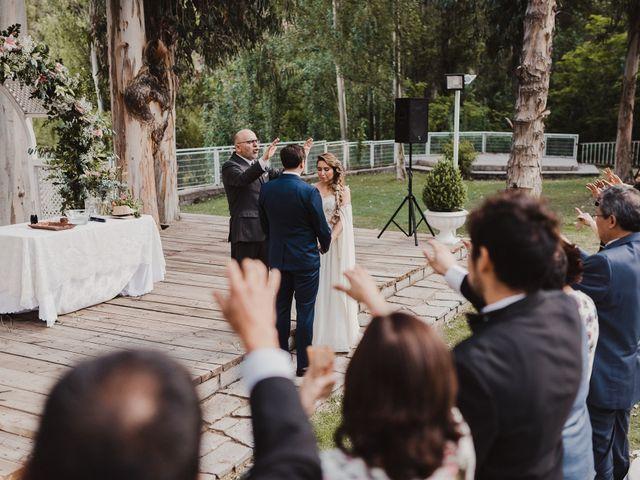 El matrimonio de Constanza y Edgardo en San José de Maipo, Cordillera 49