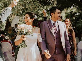 El matrimonio de Valeria y Derek