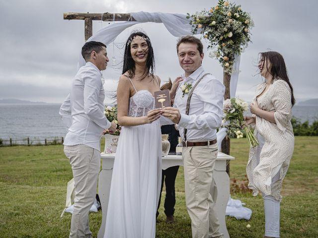 El matrimonio de Meribet y Julián