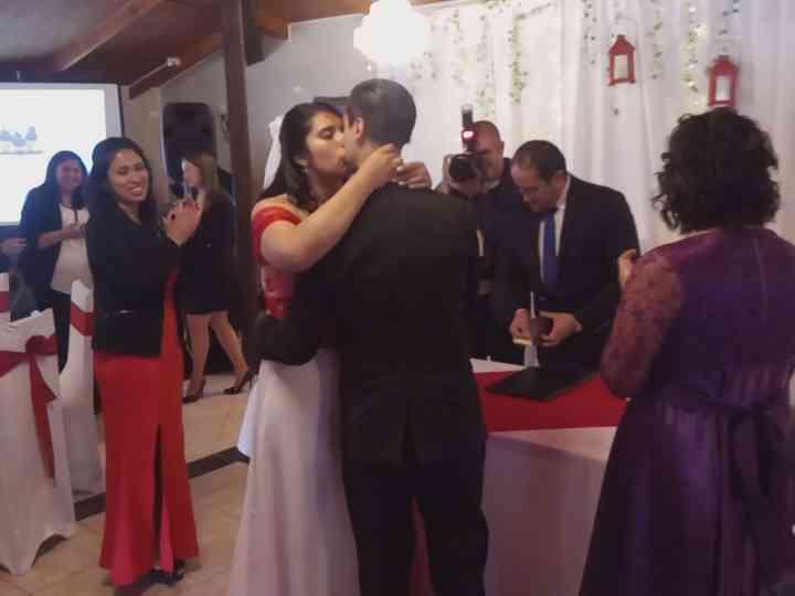El matrimonio de Richard  y Romina