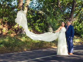 El matrimonio de Cecilia y Alex