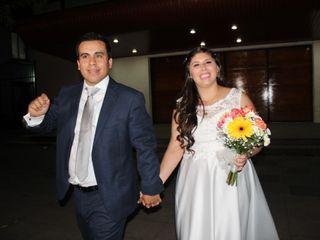 El matrimonio de Constanza y Nicolás