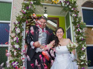 El matrimonio de Soraya  y Italo