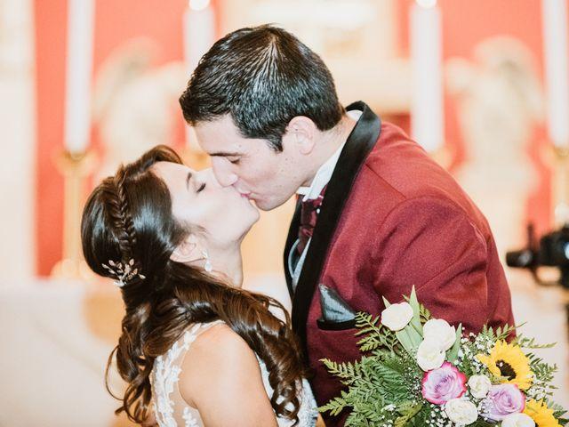 El matrimonio de Jennifer y Marcos