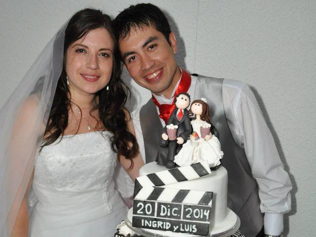 El matrimonio de Ingrid y Luís