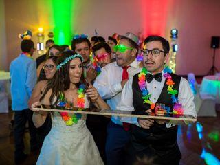 El matrimonio de Danka y Diego