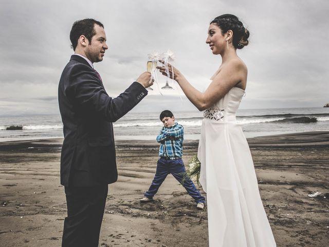 El matrimonio de Nora y Piero