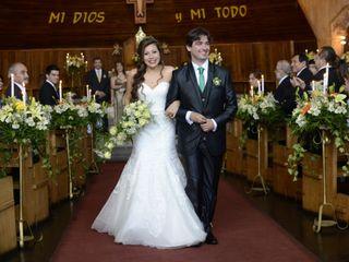 El matrimonio de Claudia y Juan José