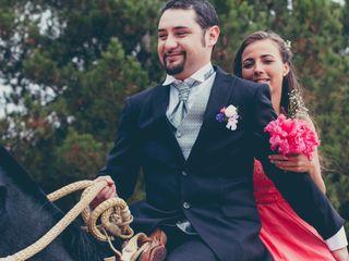 El matrimonio de Nicol y Santiago