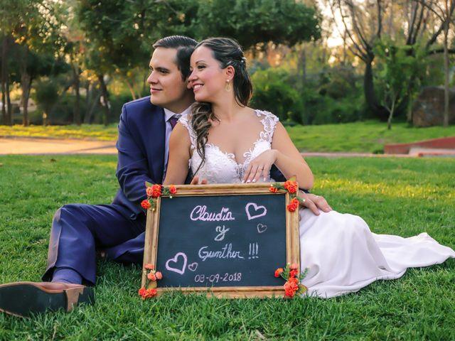 El matrimonio de Claudia y Guntter