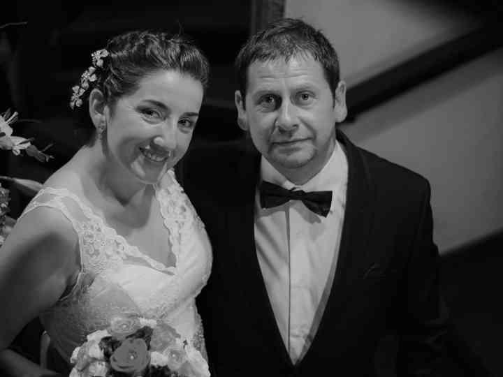 El matrimonio de Indira y Pedro