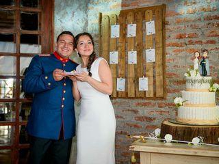 El matrimonio de Nataly y Pedro
