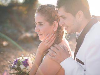 El matrimonio de Leidy y Michel