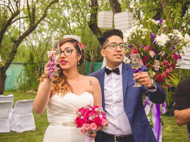 El matrimonio de Catherine  y Neftali