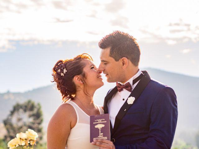 El matrimonio de Vannesa y Mauricio