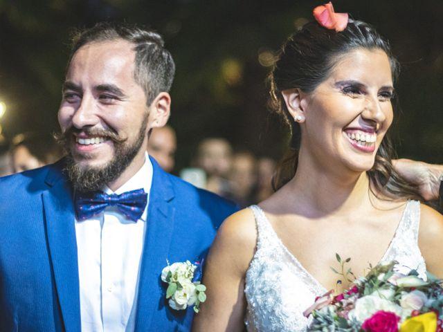 El matrimonio de María Ignacia y Óscar
