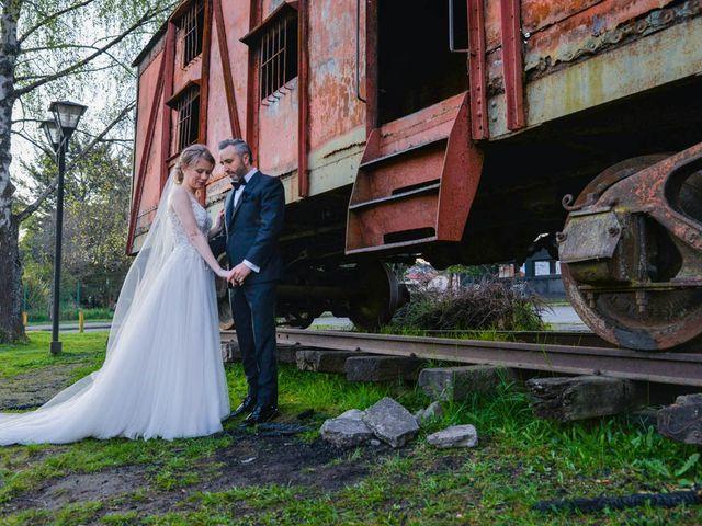 El matrimonio de Vyktoria y Marcos