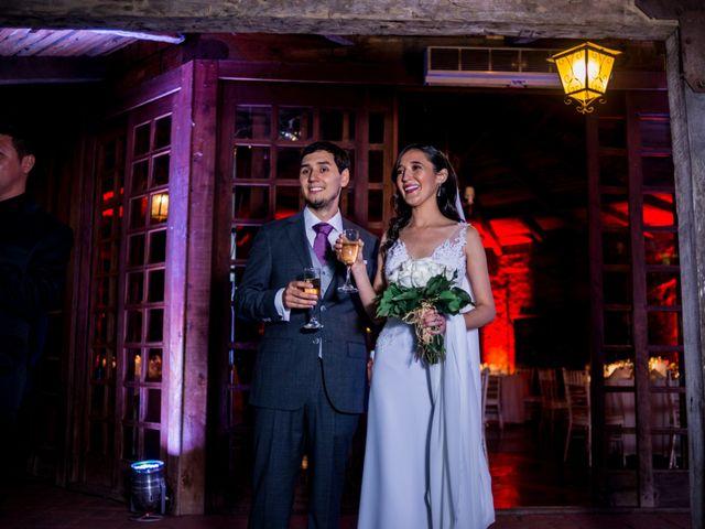 El matrimonio de Solange y Juan