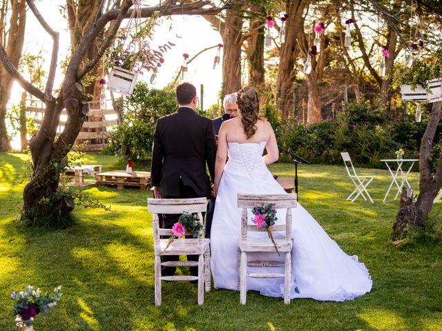 El matrimonio de Daniela y Omar