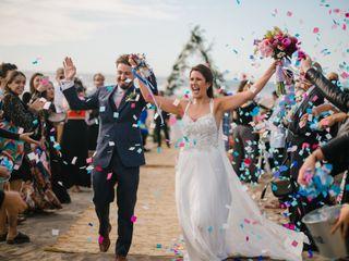El matrimonio de Sarah y Santiago
