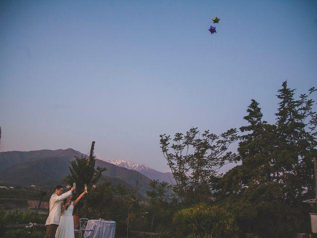 El matrimonio de Patricio y Mónica  en Pirque, Cordillera 28