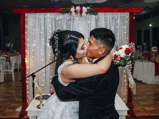 El matrimonio de Allyson y Bastían