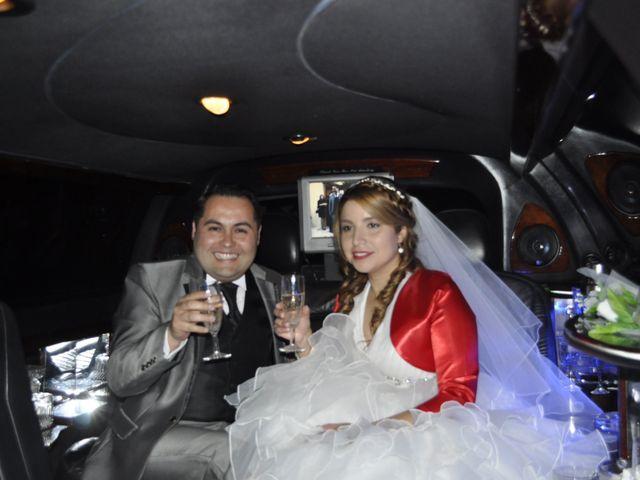El matrimonio de Daniela y Hans