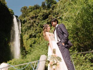 El matrimonio de Kata y Feli