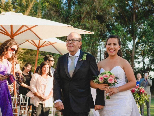 El matrimonio de Bastián y Karen en San Bernardo, Maipo 37