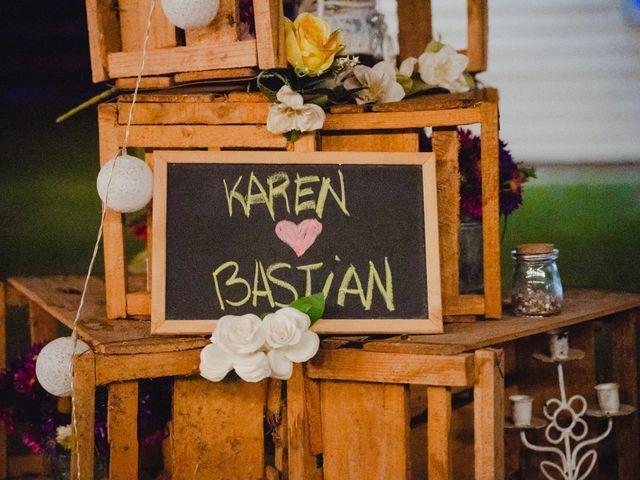 El matrimonio de Bastián y Karen en San Bernardo, Maipo 56
