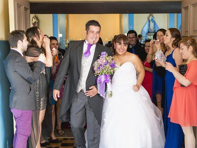 El matrimonio de Daniella y Roberto