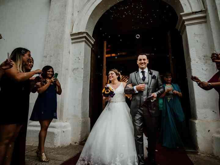 El matrimonio de Eselyn y Víctor