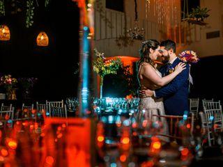 El matrimonio de Daniel y Francisca