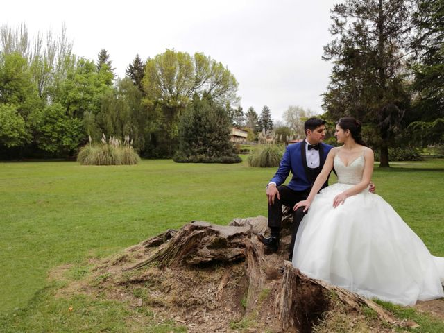El matrimonio de Vanessa y José