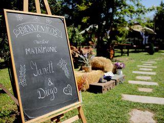 El matrimonio de Yanet y Diego 1