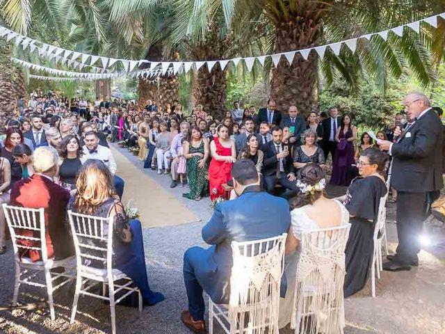 El matrimonio de José Agustín y Camila en San Bernardo, Maipo 18