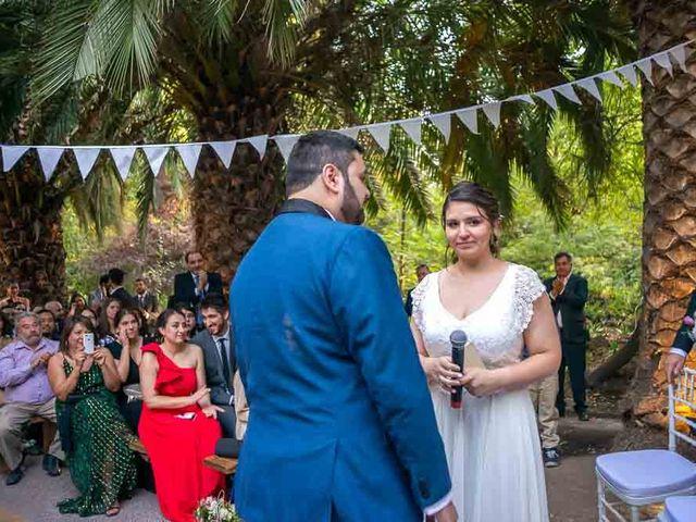 El matrimonio de José Agustín y Camila en San Bernardo, Maipo 77