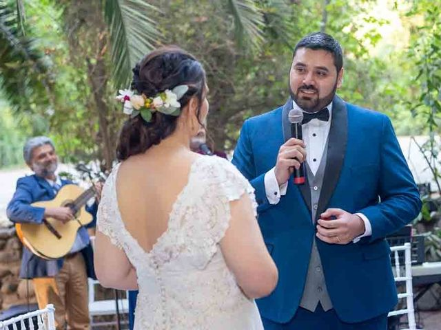 El matrimonio de José Agustín y Camila en San Bernardo, Maipo 78