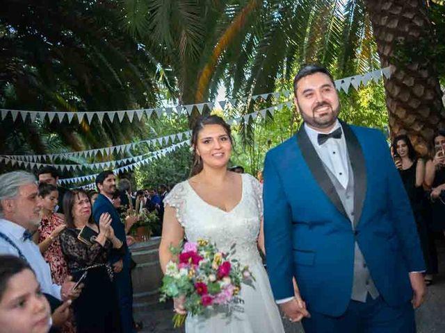 El matrimonio de José Agustín y Camila en San Bernardo, Maipo 82