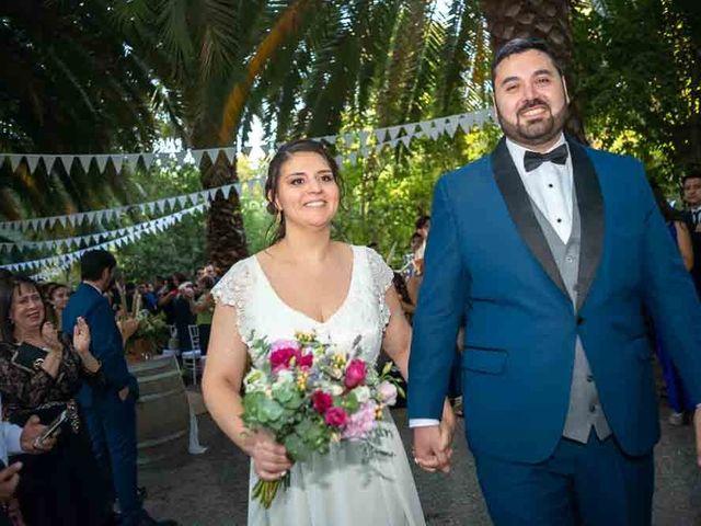 El matrimonio de José Agustín y Camila en San Bernardo, Maipo 83