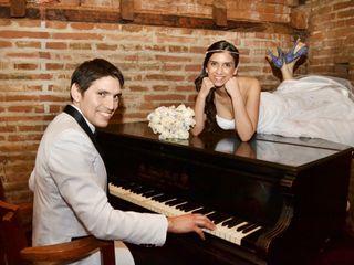 El matrimonio de Carmen Gloria Aguilar y Ronald Youlton