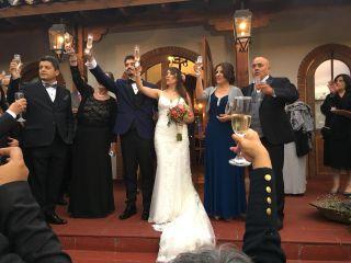 El matrimonio de Esteban  y Bárbara  1
