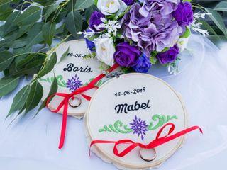 El matrimonio de Mabel y Boris 1